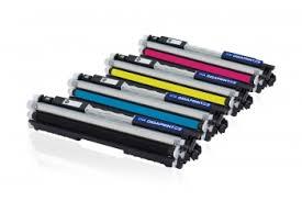 Profesionálna renovácia tonera HP CE310-313 sada farieb