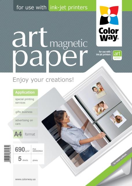 Foto papier lesklý ART Magnetic, 690g (PGA690005MA4)