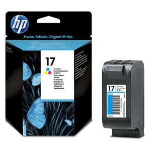 Originálny cartridge HP C6625A farebná No.17