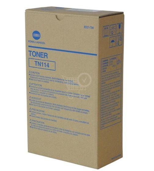 Originálny toner MINOLTA TN114 (106B) Bizhub 162/163/210/211