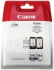 CANON PG-545 XL + CL-546 black XL+color originálne kazety