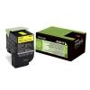 Toner Lexmark CX410/CX510 802HY 3K YELLOW